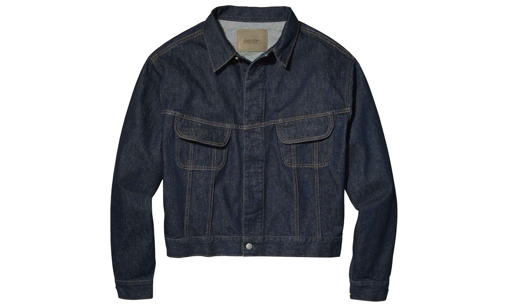 Heron Preston x Calvin Klein giacca in jeans