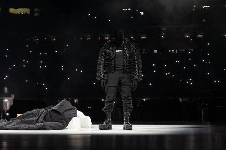 Kanye West Mercedes-Benz Stadium Balenciaga