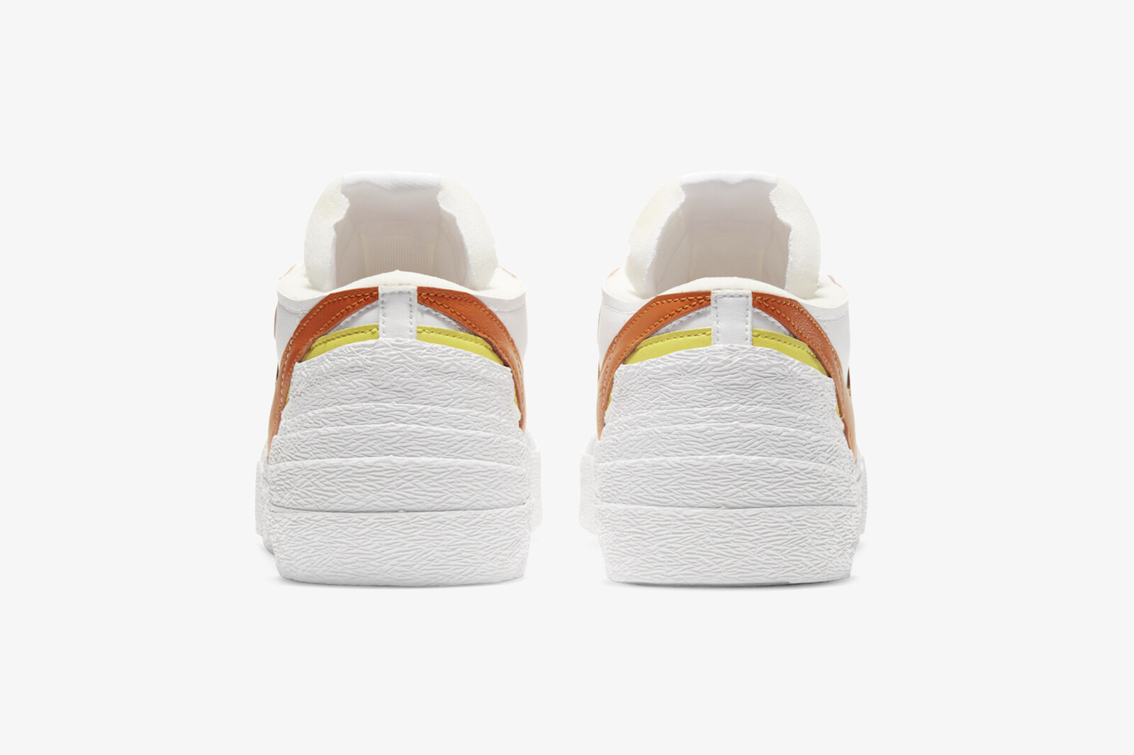 Sacai x Nike Blazer Low Magma Orange
