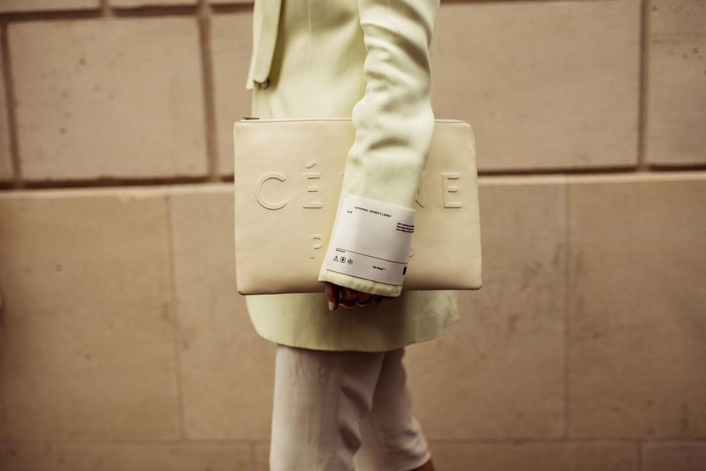 Cu00e9line shopping bag