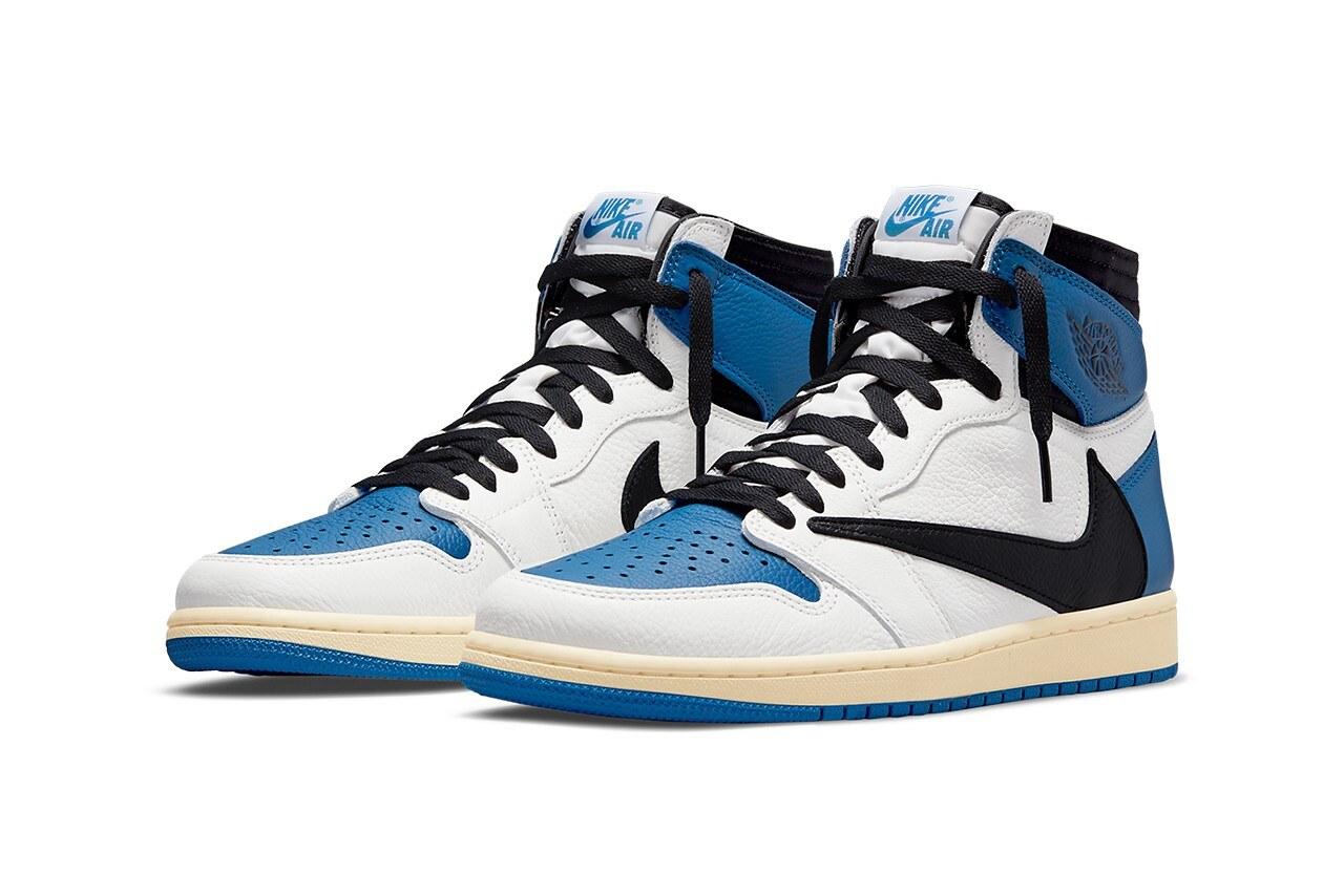 fragment x Travis Scott x Air Jordan 1 High u201cMilitary Blueu201d