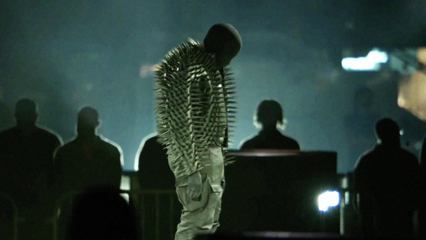 Kanye West at DONDA
