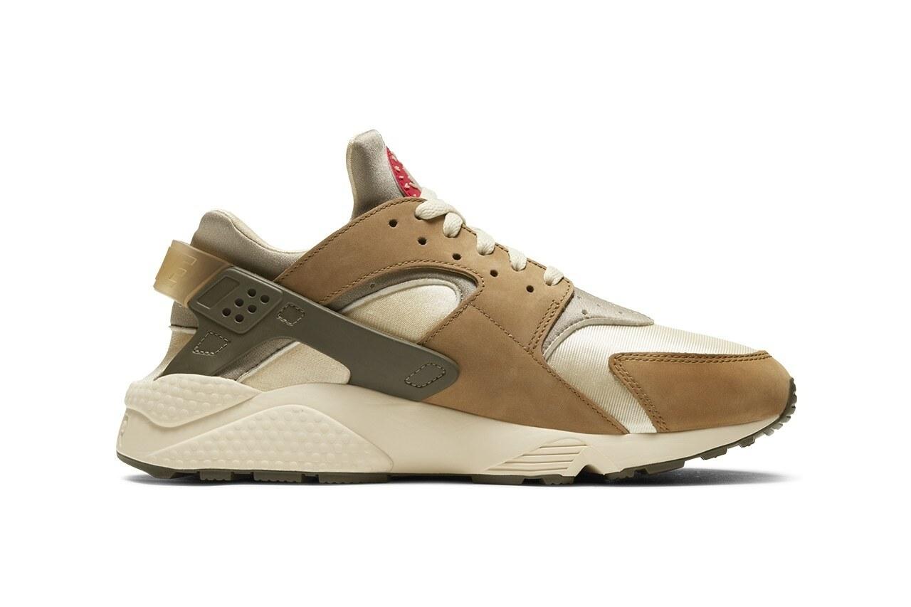 Stu00fcssy x Nike Air Huarache LE u201cDesert Oaku201d