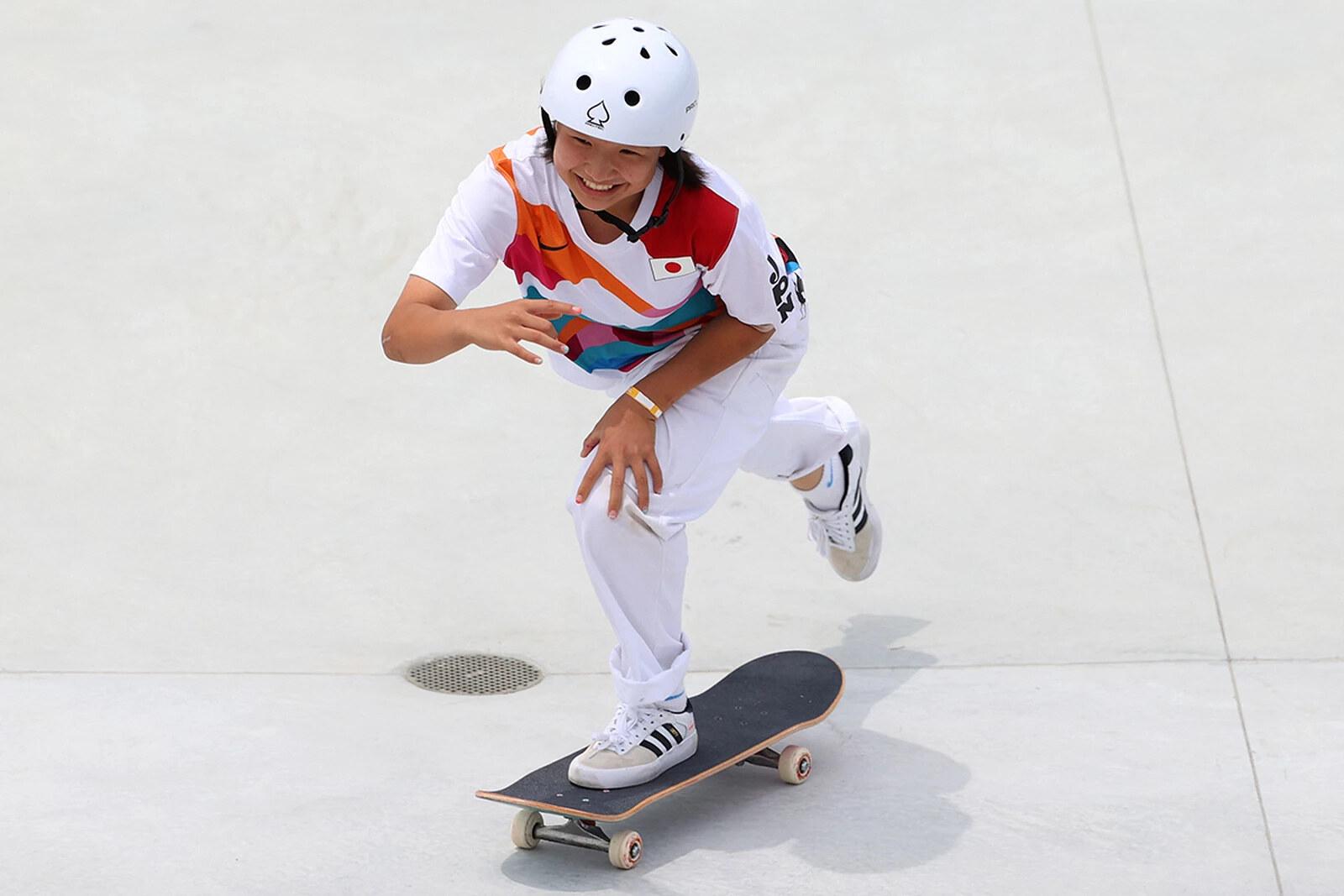 Momiji Nishiya Street Skateboarding Tokyo 2020