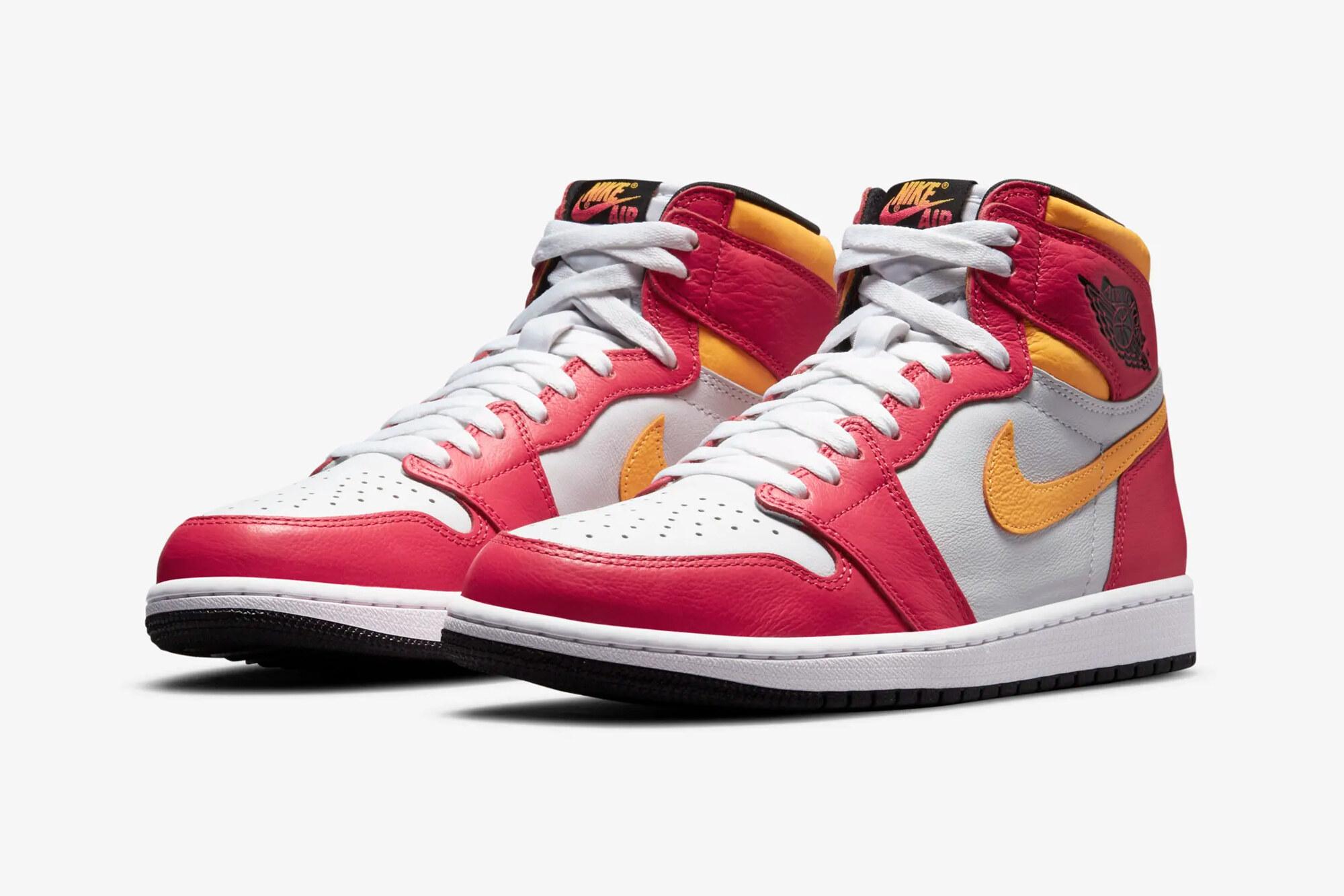 "Air Jordan 1 ""Light Fusion Red"""
