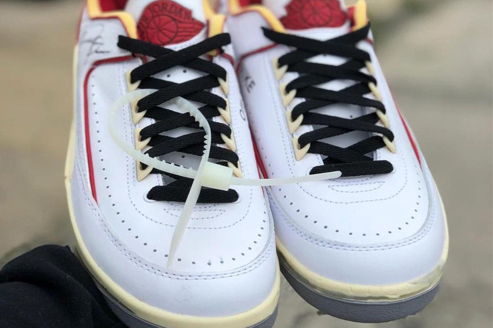 Off-White x Air Jordan 2 Low