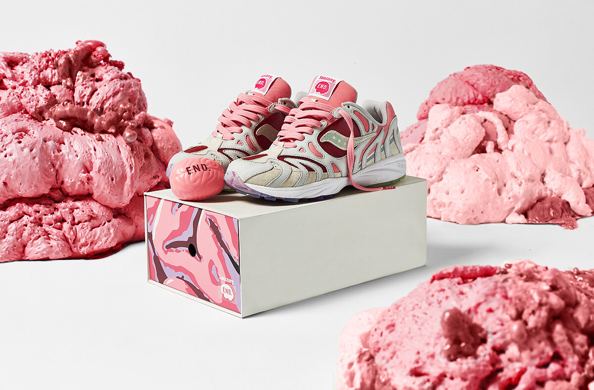 END. Clothing x Saucony