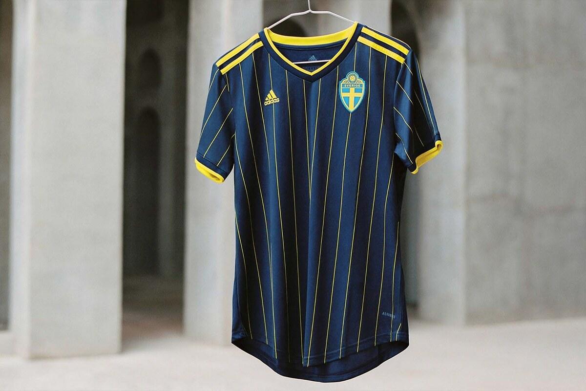 Svezia Home Kit Euro 2020