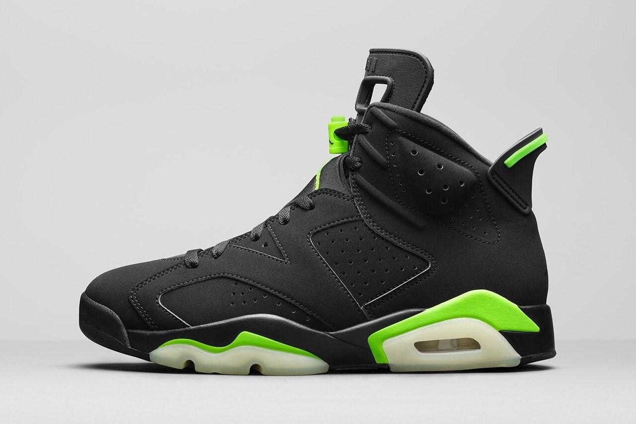Air Jordan 6 Electric Green