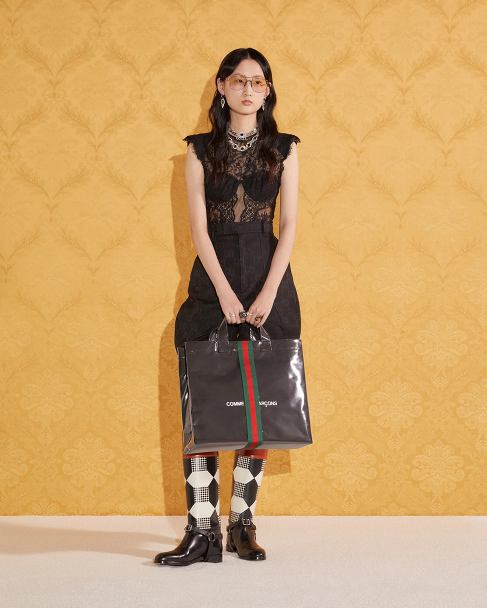Gucci x Comme Des Garcons Tote Bag 2021