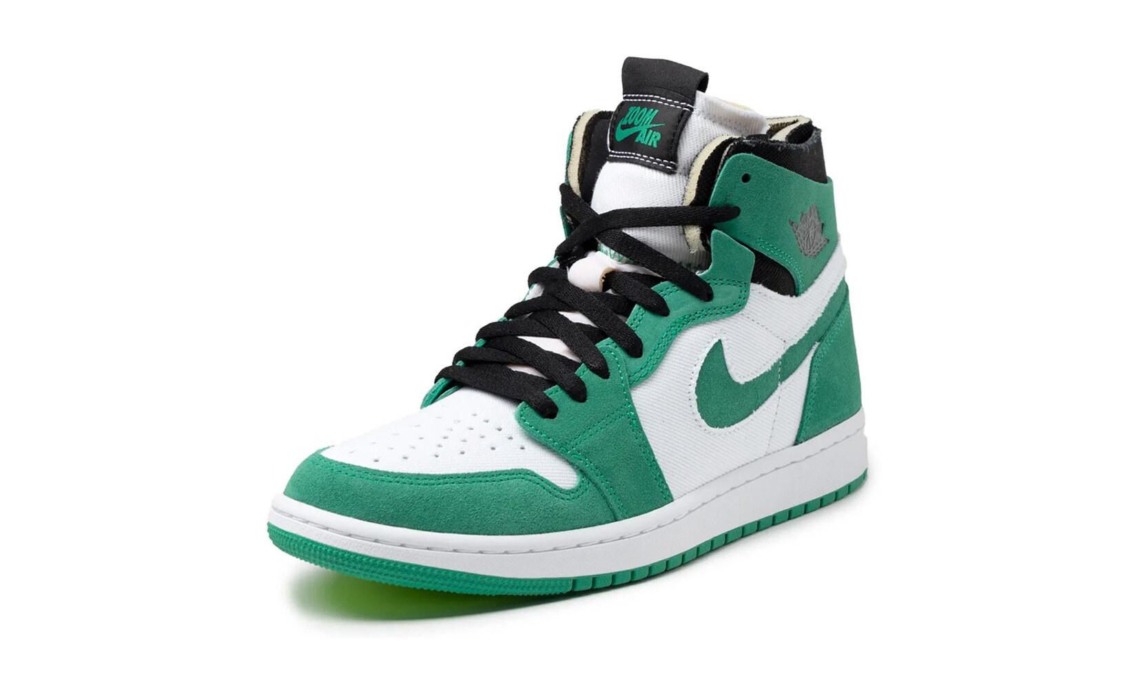 Air Jordan 1 Zoom CMFT Stadium Green-ct0978-300