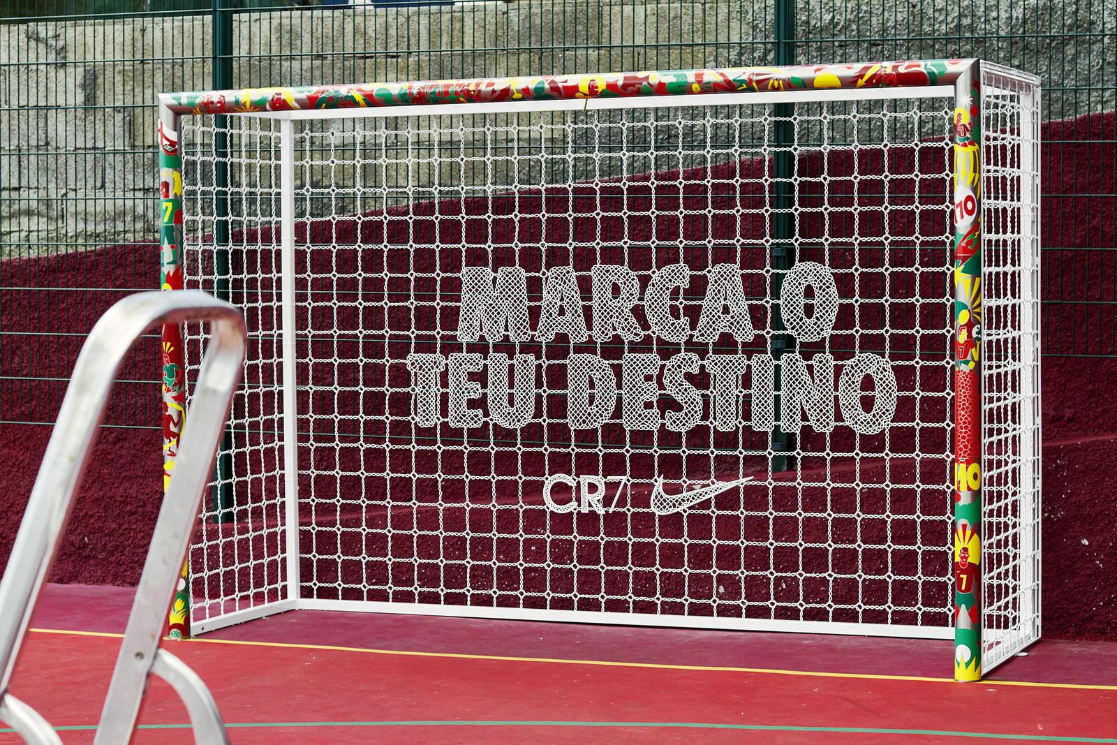 Cristiano Ronaldo Madeira Campo da calcio