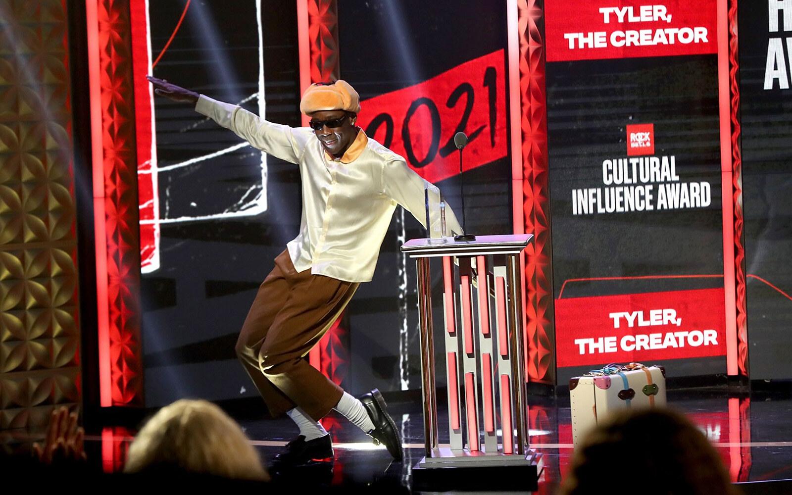 Tyler The Creator BET Hip Hop 2021