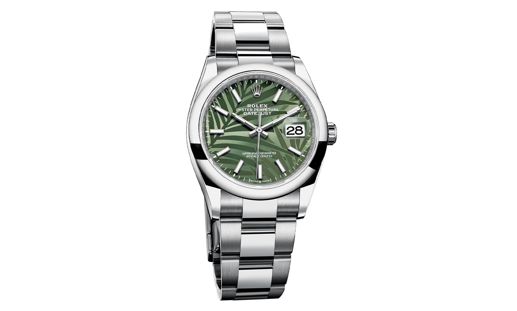 Rolex Datejust Palm Motif