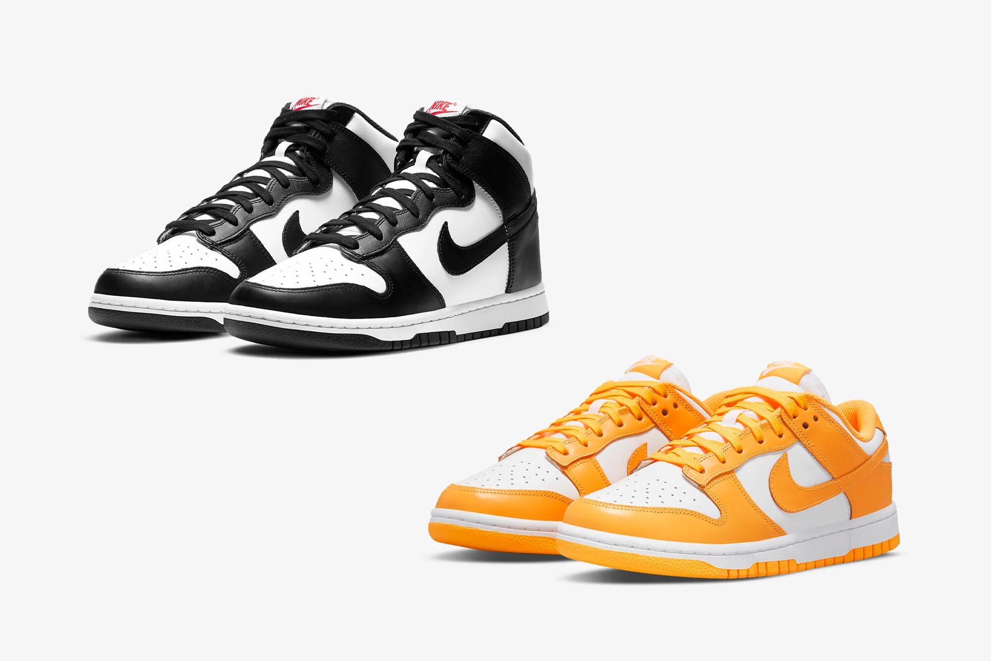 Nike Dunk Panda - Laser Orange