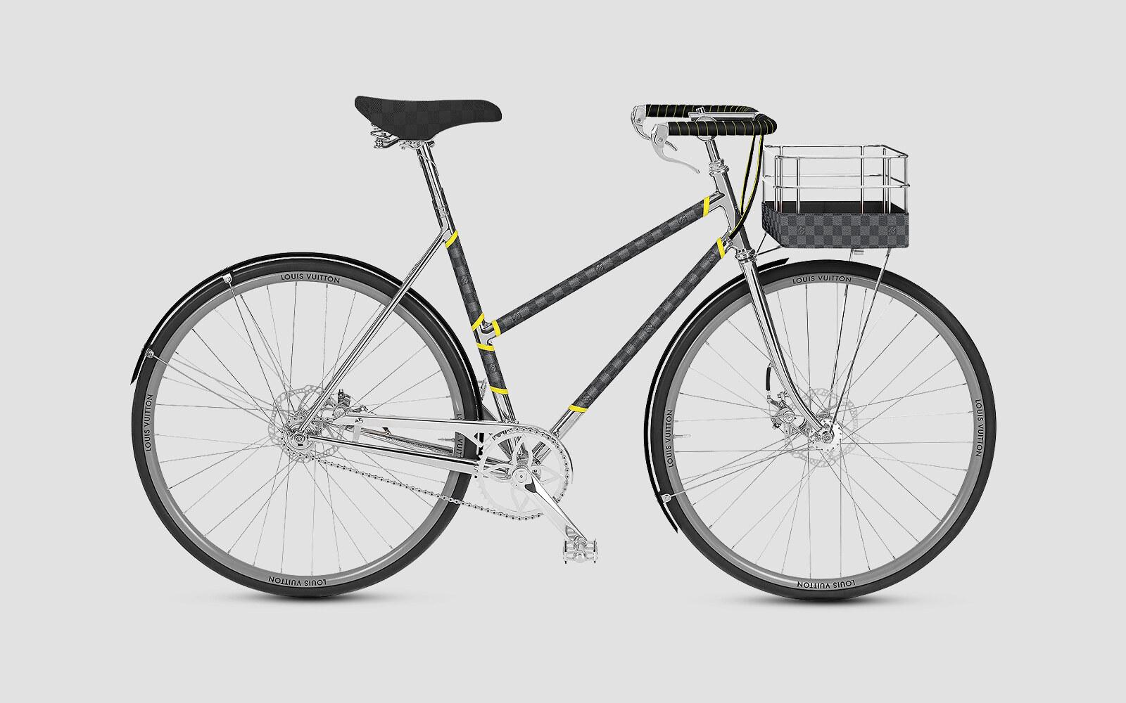 Louis Vuitton bicicletta x Maison Tamboite