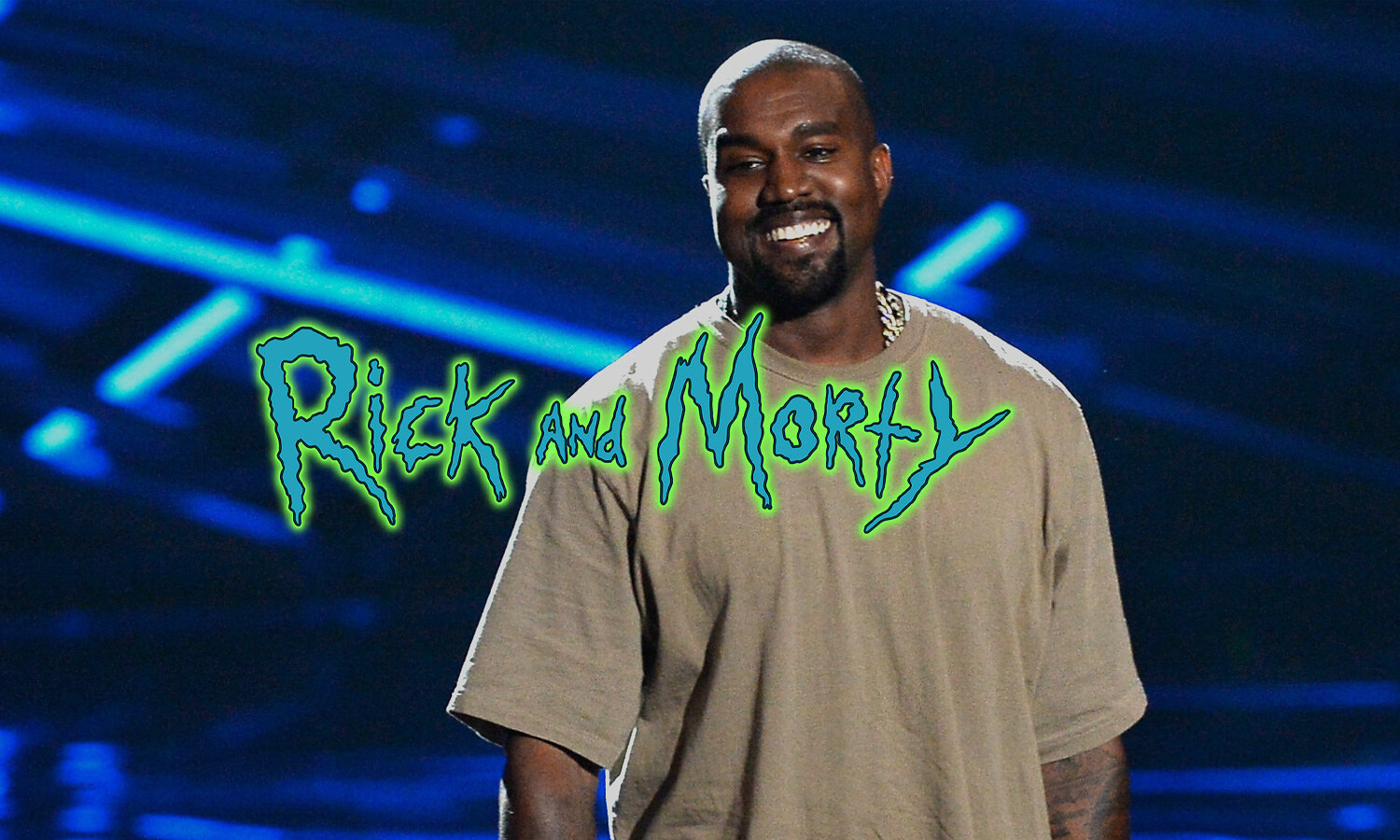 Rick and Morty x Kanye West