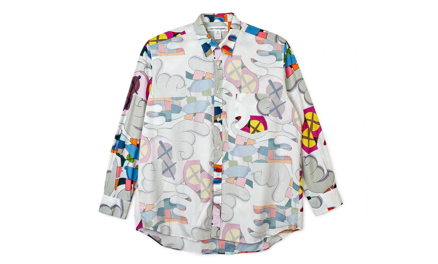 CDG Shirt x KAWS capsule collection