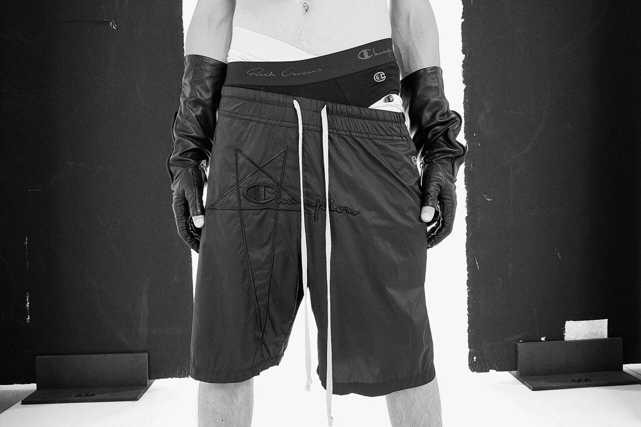 Rick Owens x Champion