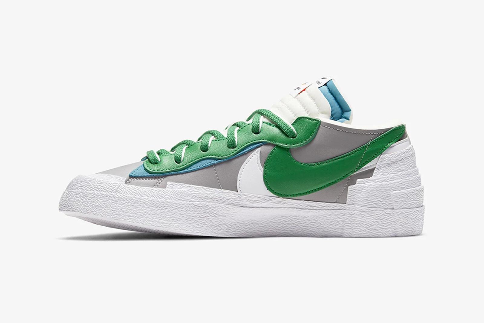 Sacai x Nike Blazer Low Classic Green