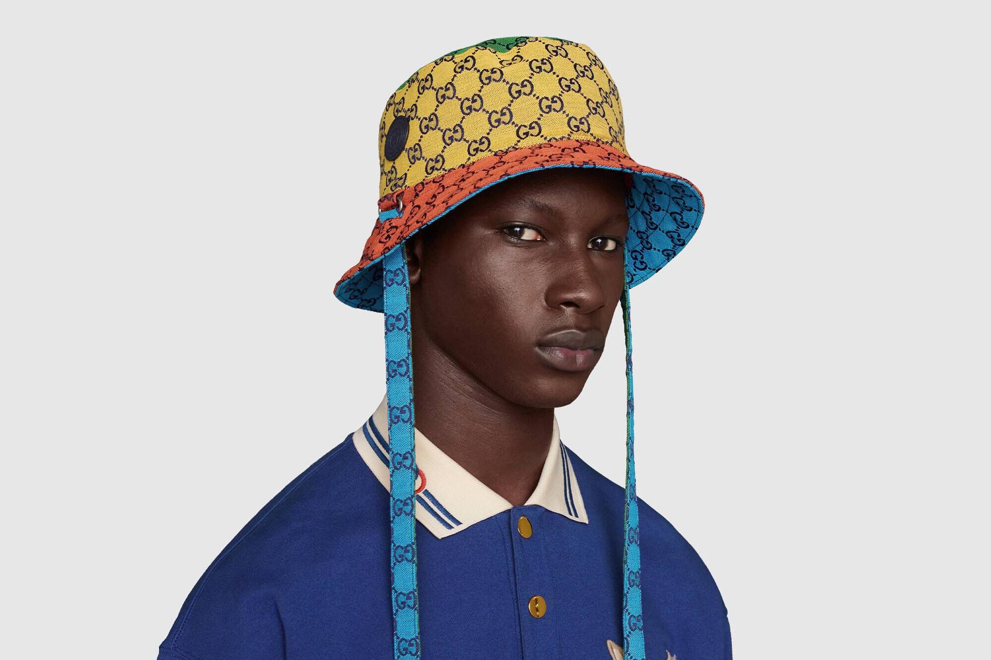 Gucci Cloche reversibile GG Multicolor