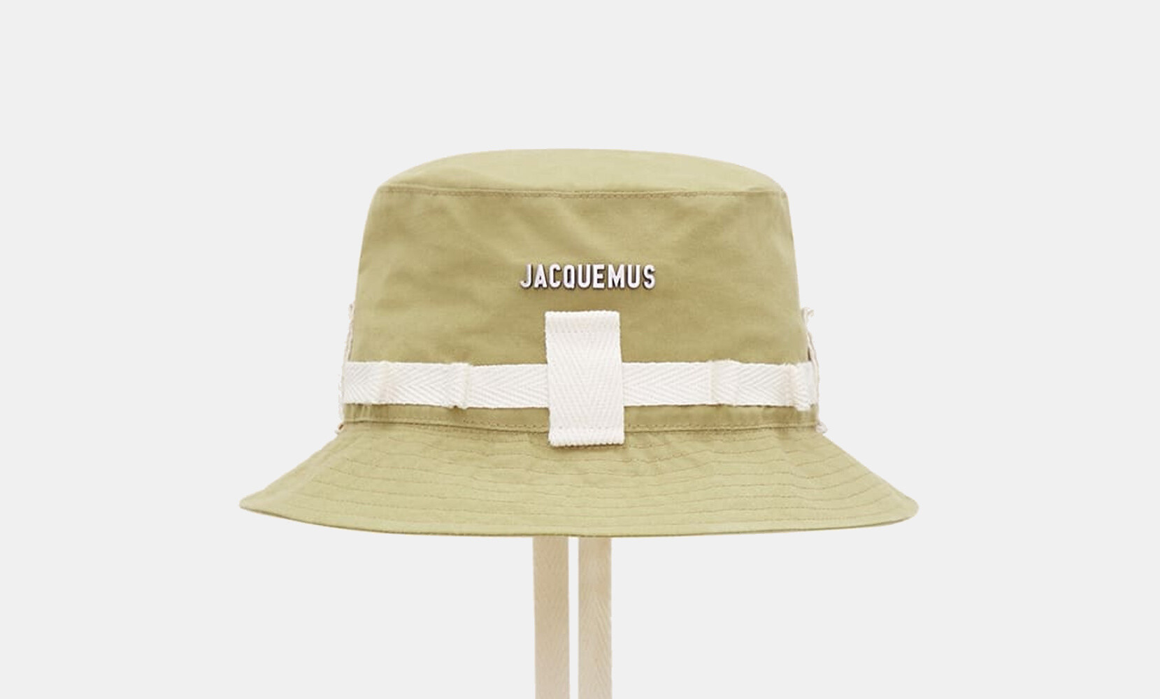 Jacquesmus L'amour bi-color bucket hat