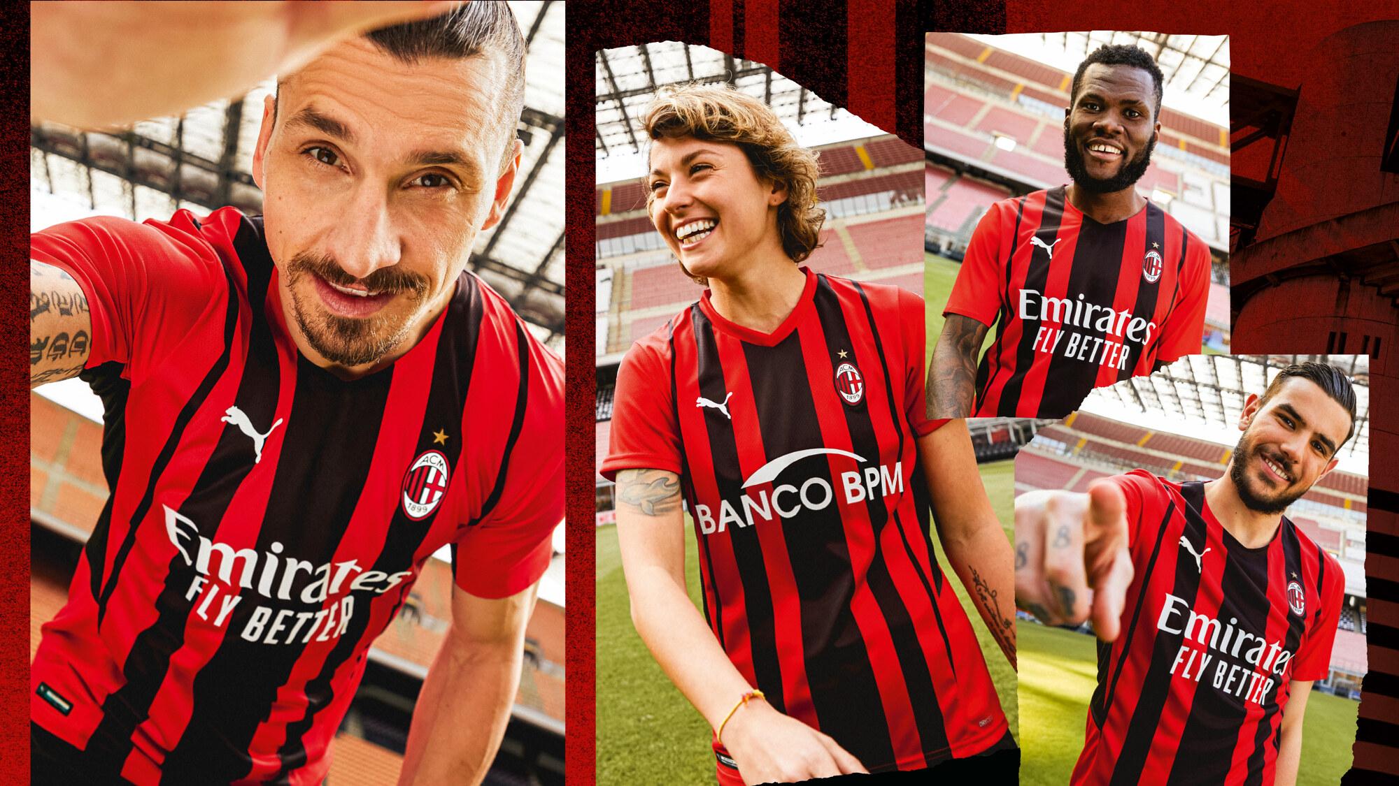 AC Milan x Puma Home Kit 2020-21
