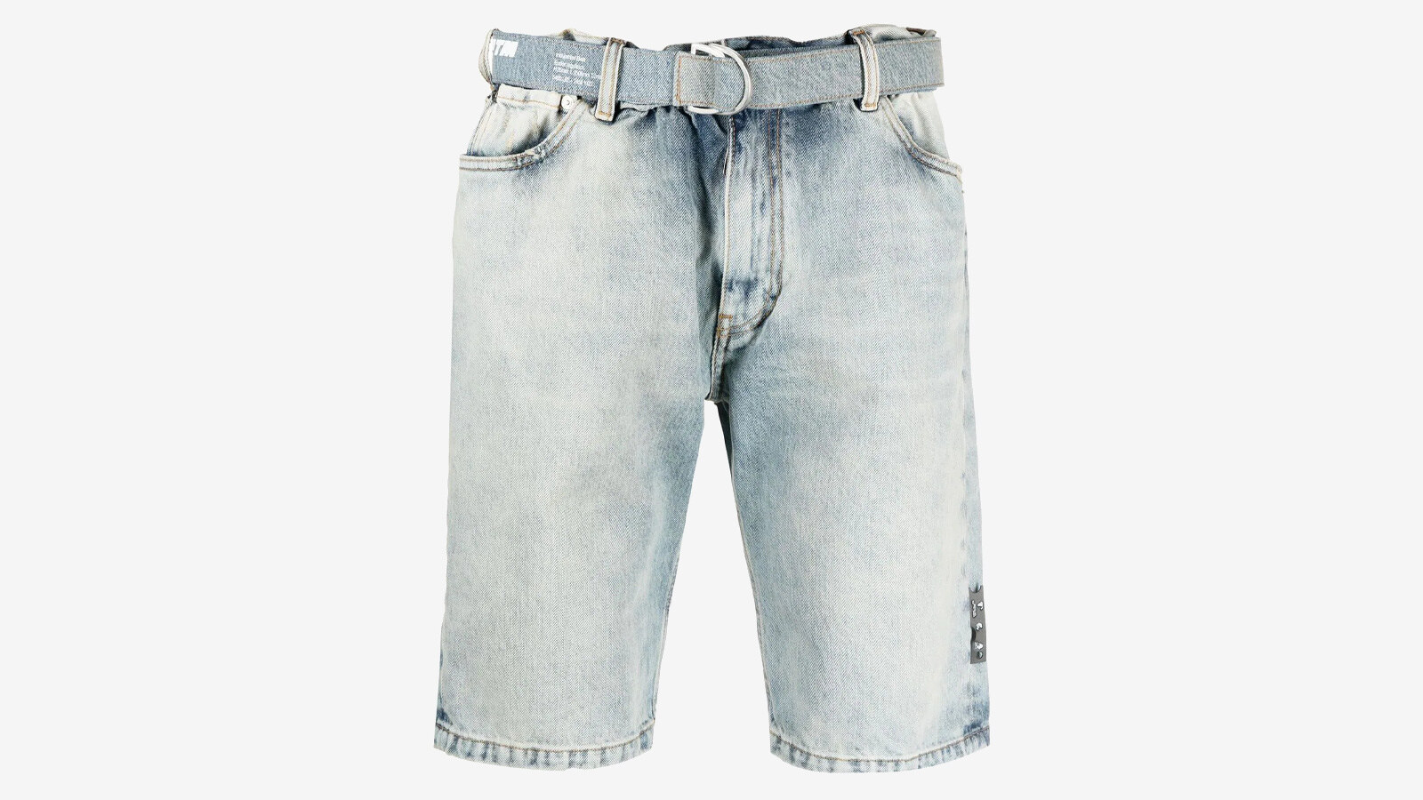 Off-White - denim shorts