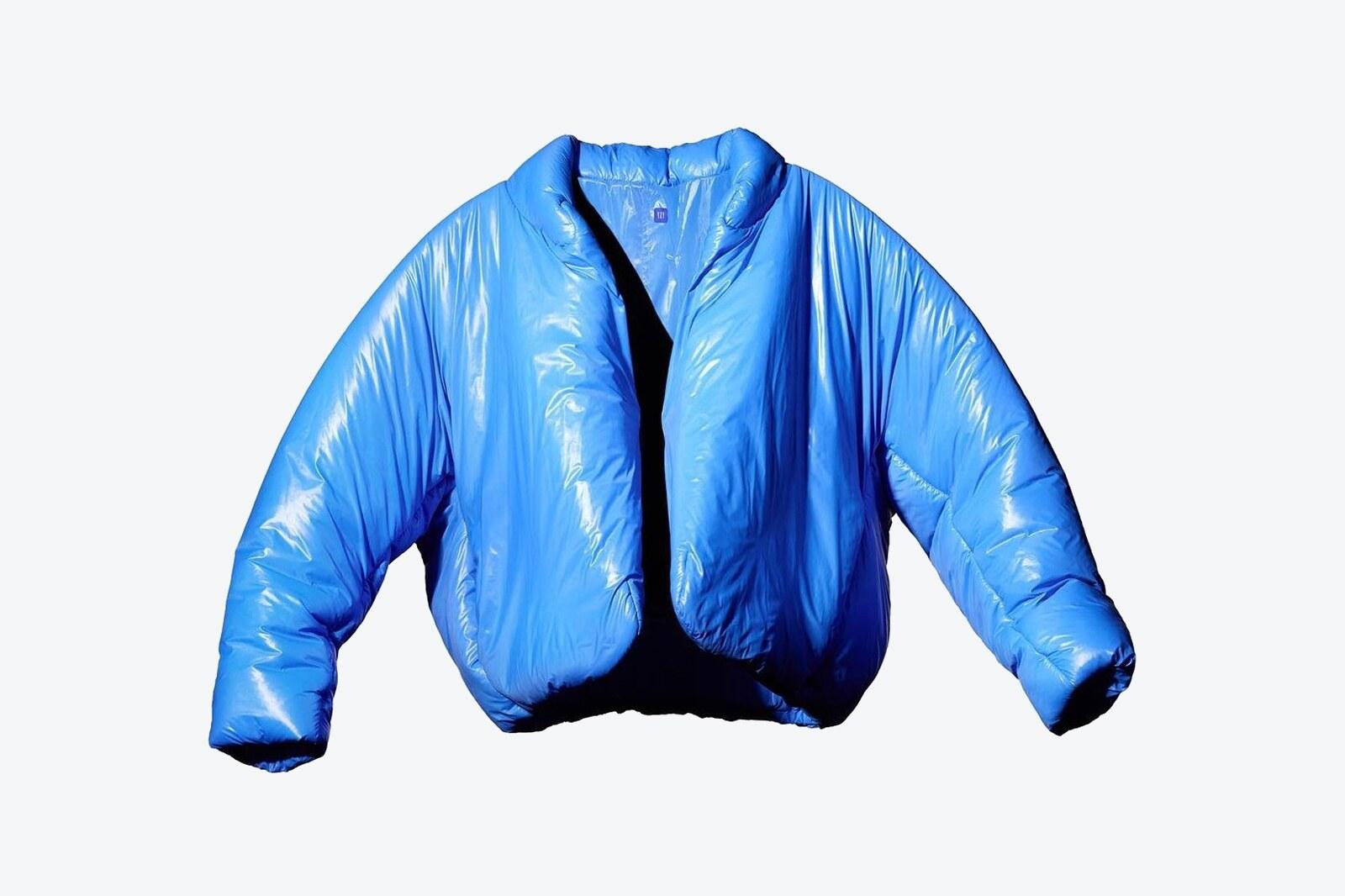 YEEZY Gap Round Jacket blu