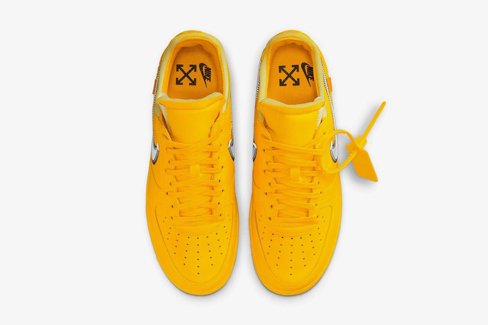 Off White x Nike Air Force 1 Lemonade
