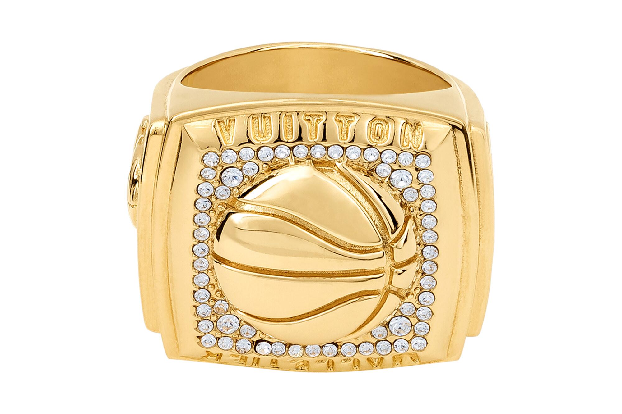 Louis Vuitton x NBA Ring