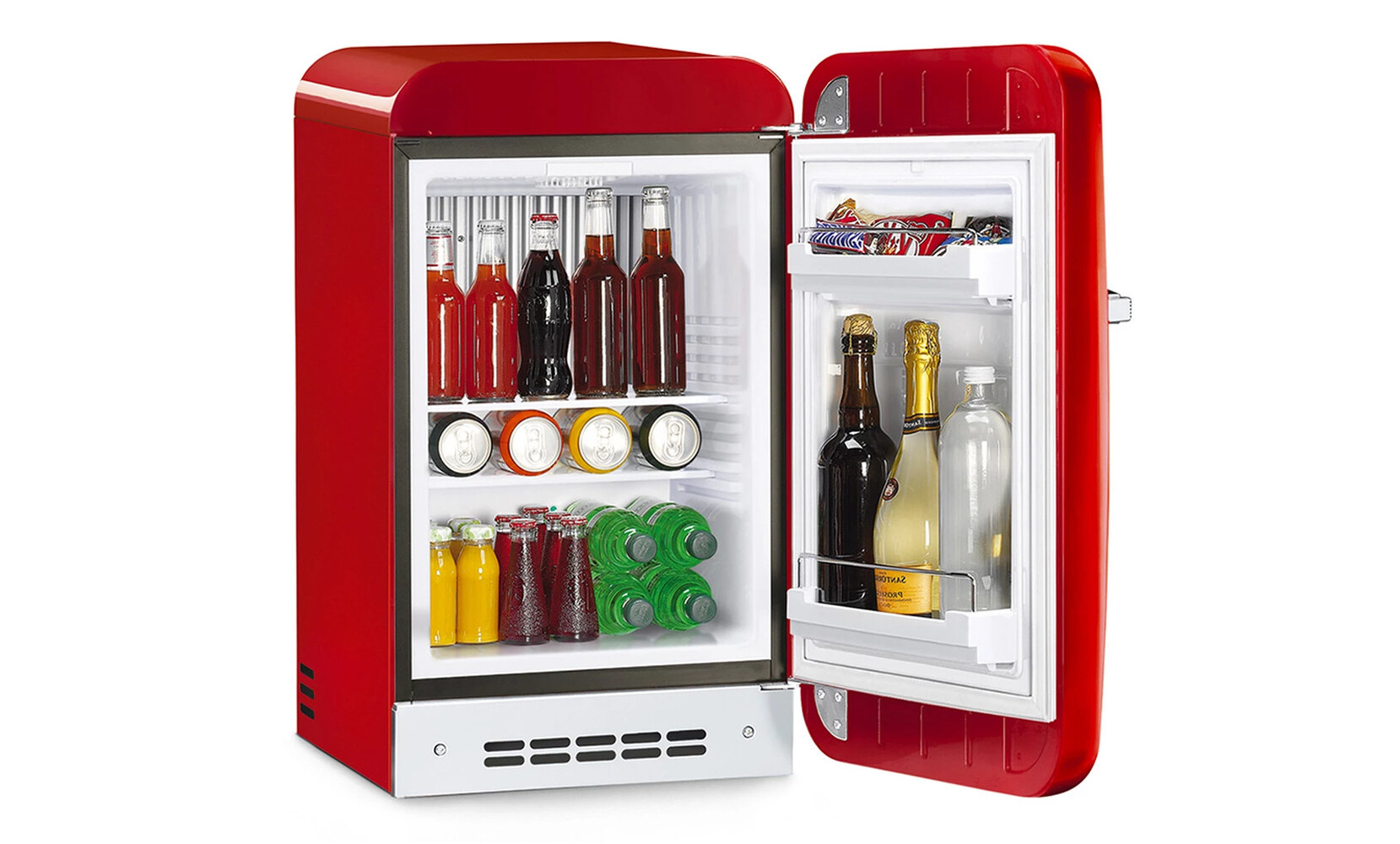 Smeg x Supreme mini-frigo