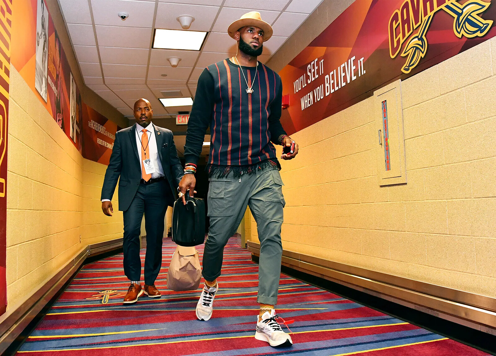 LeBron James NBA Tunnel