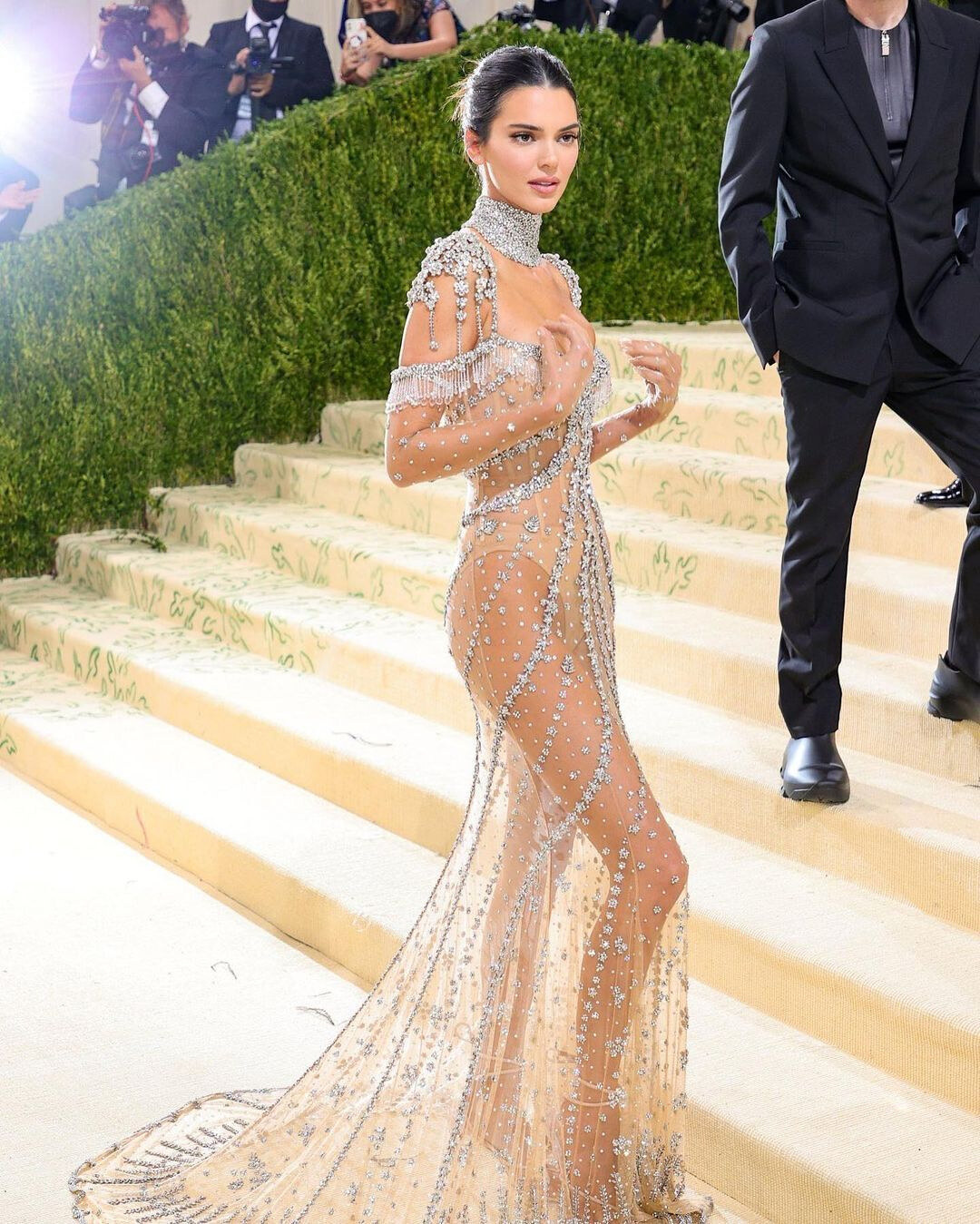 Kendall Jenner Givenchy Met Gala 2021
