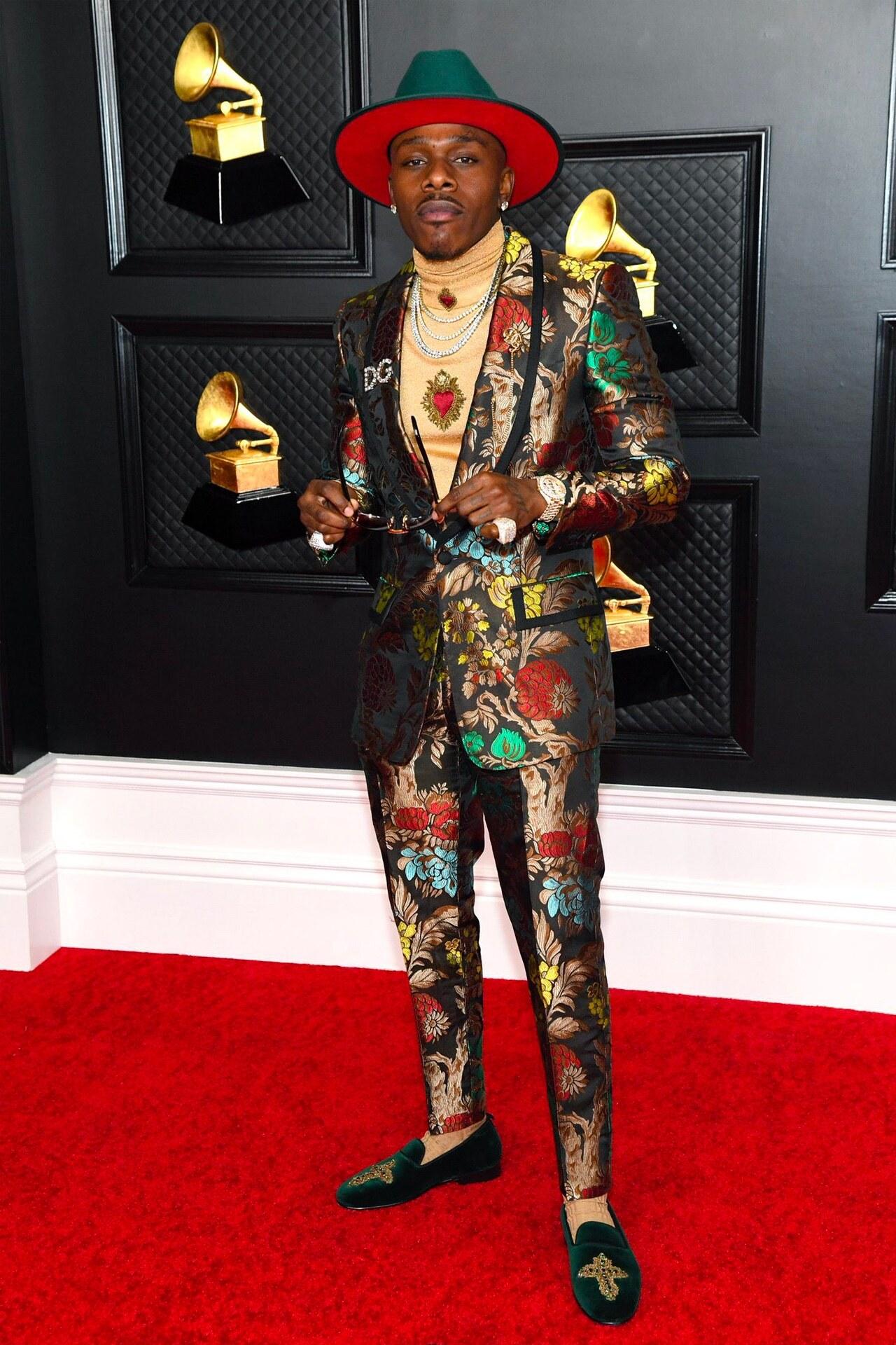 DaBaby Grammy 2021 Dolce & Gabbana