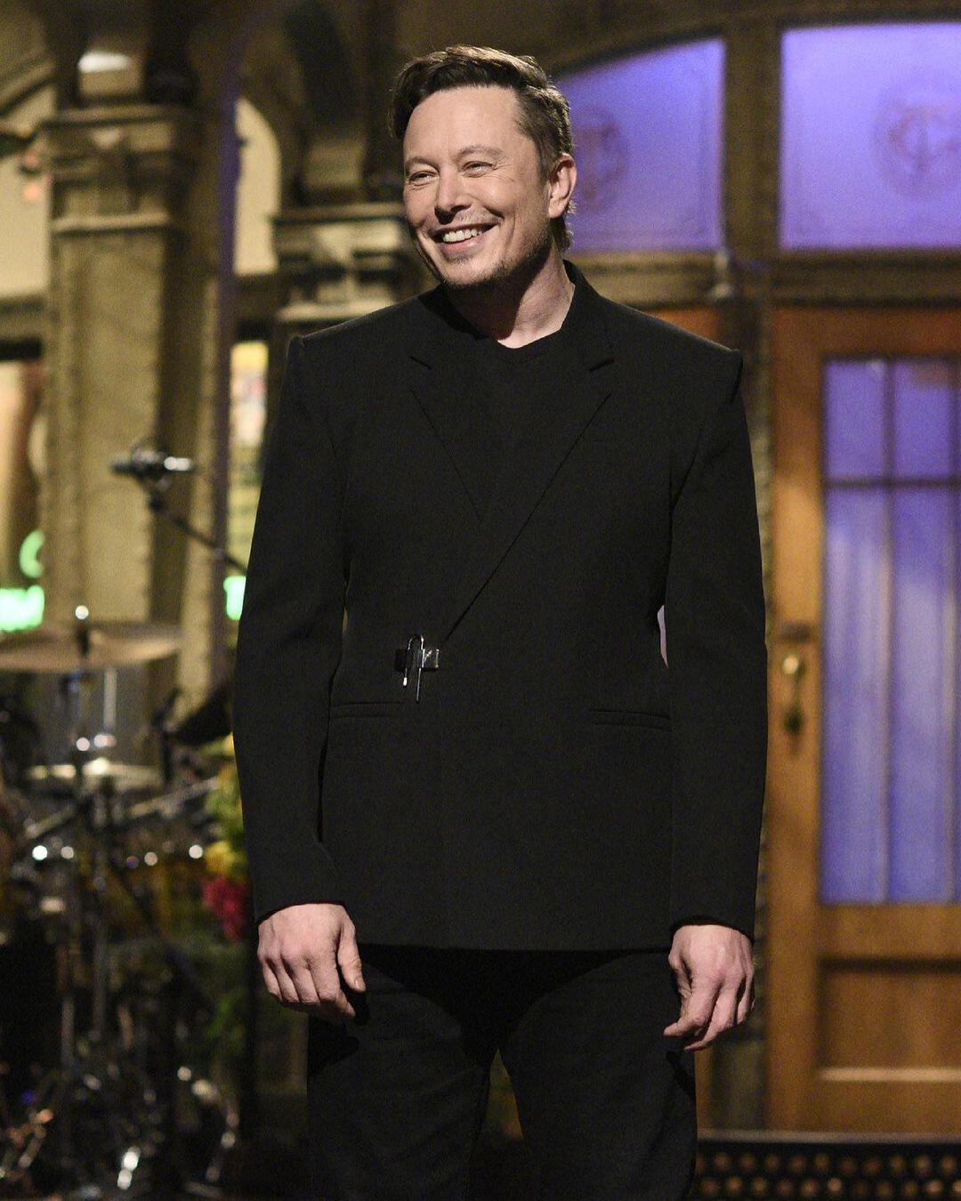 Elon Musk Givenchy -  Matthew M. Williams