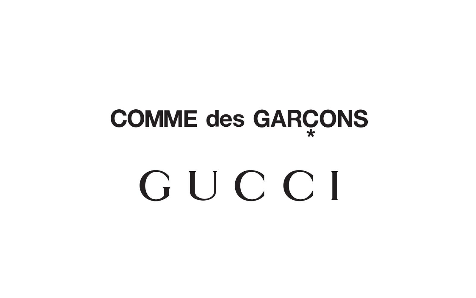 Gucci x Comme Des Garcons