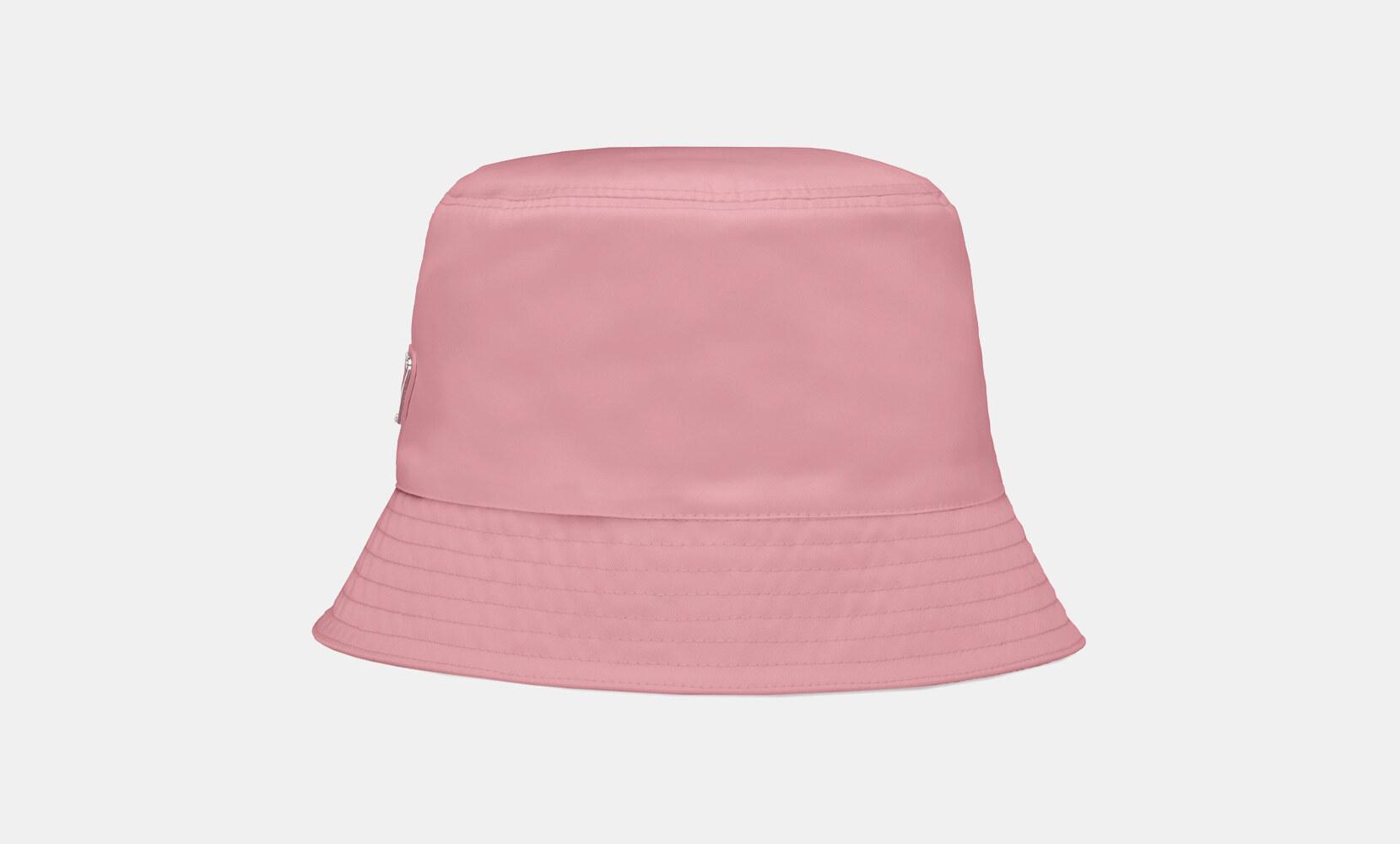 Prada Cappello da pescatore in Re-Nylon