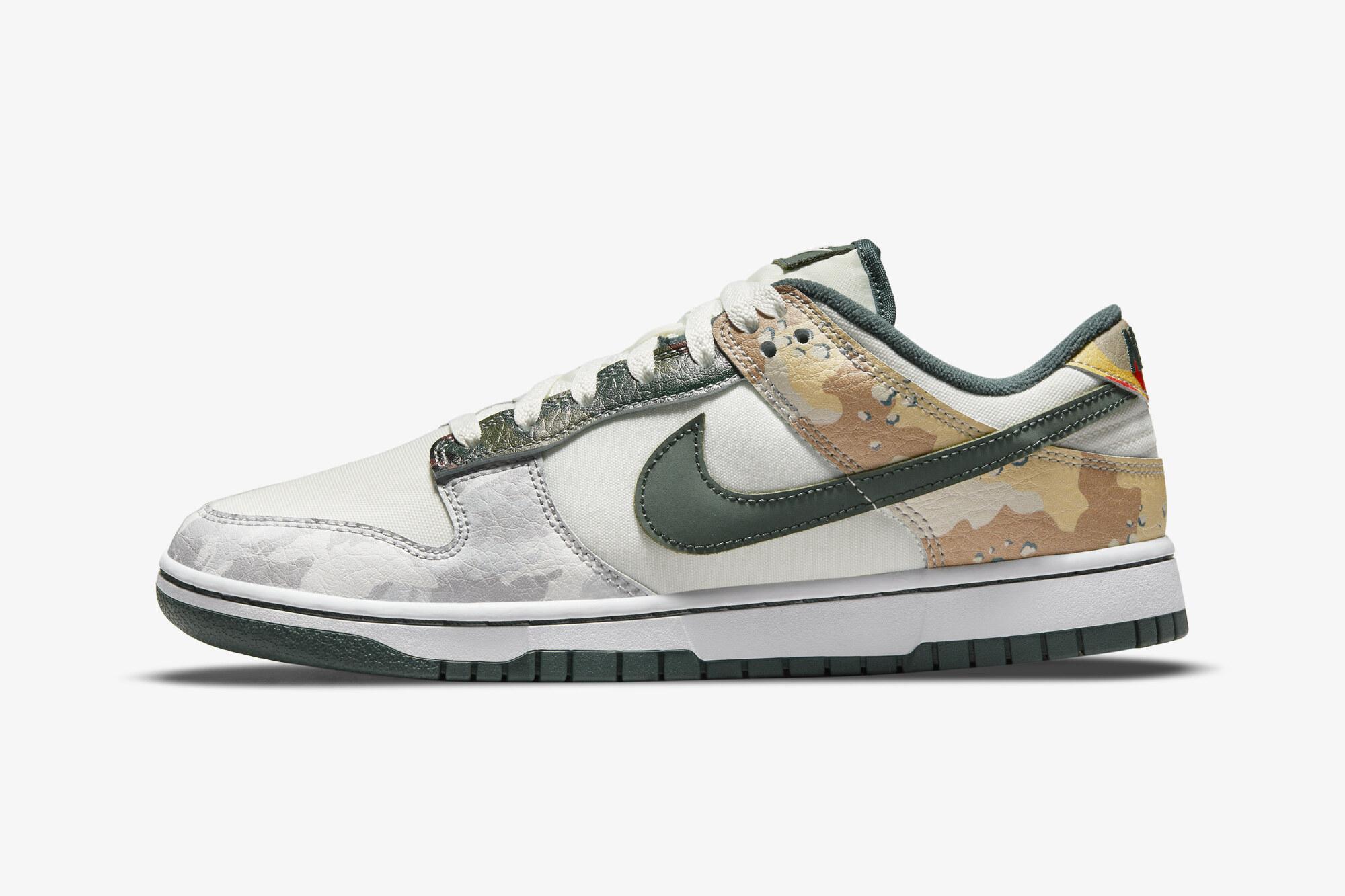 Nike Dunk Low Multi Camo