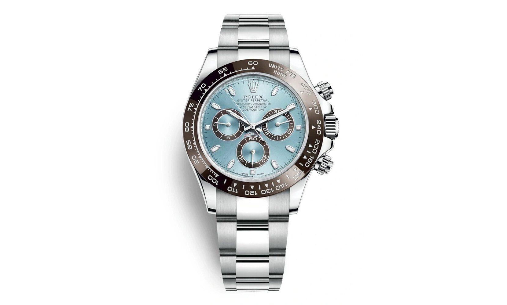 Rolex Cosmograph Daytona Platinum Ice Blue