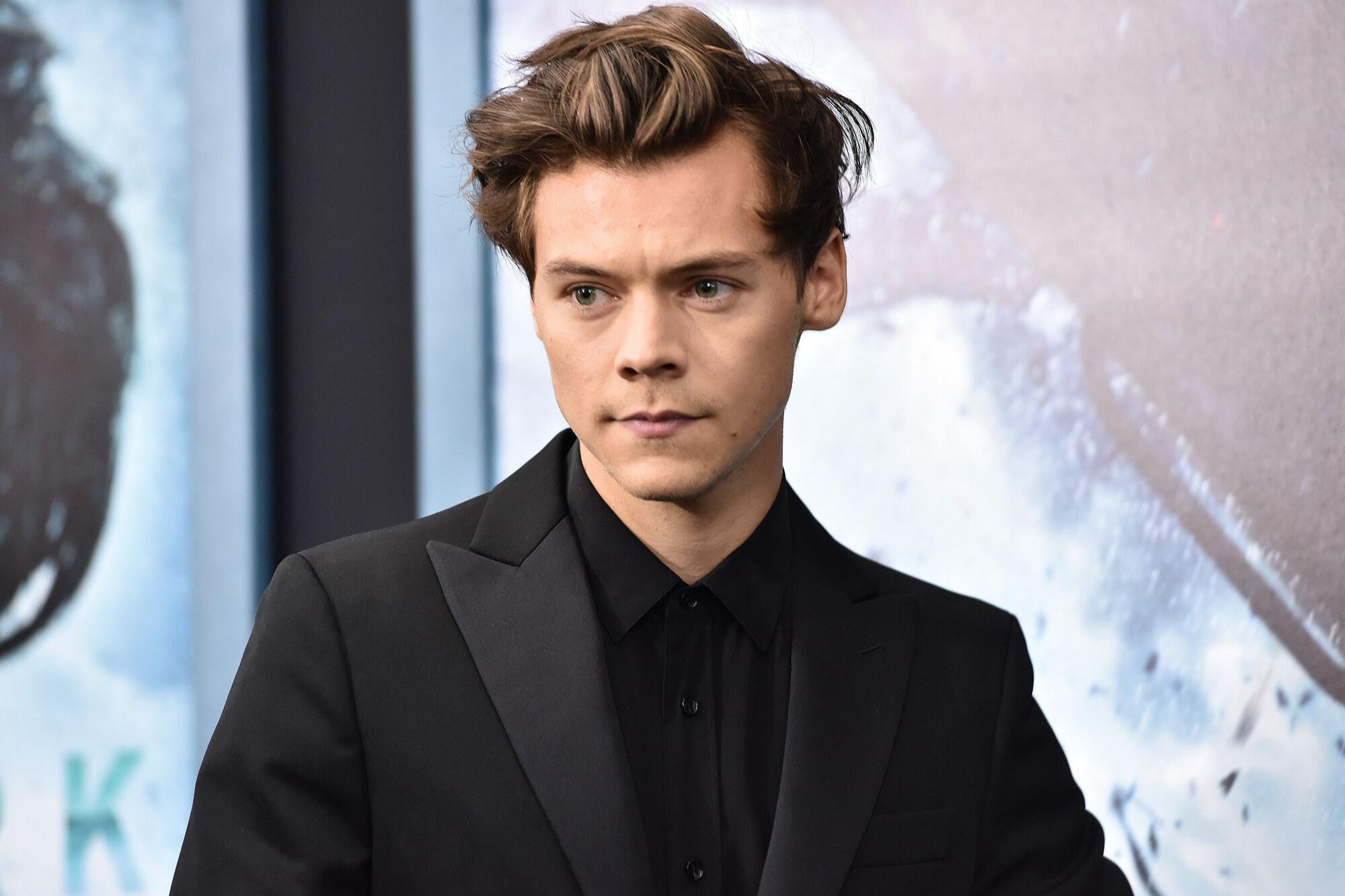 Harry Styles Pleased As Holdings