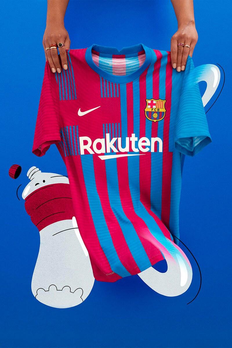 FC Barcellona Home kit 2021 2022