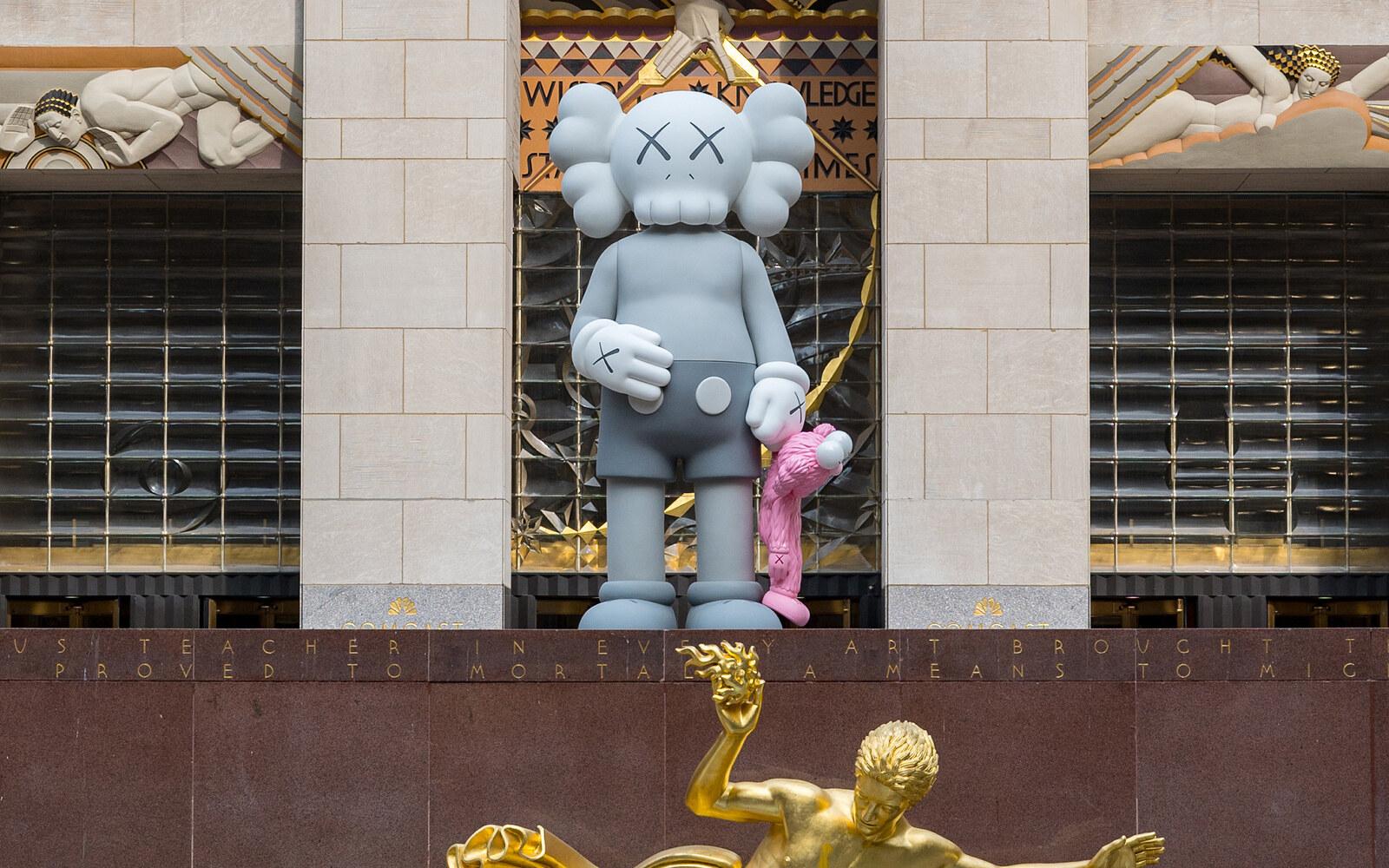 KAWS Rockefeller Center New York