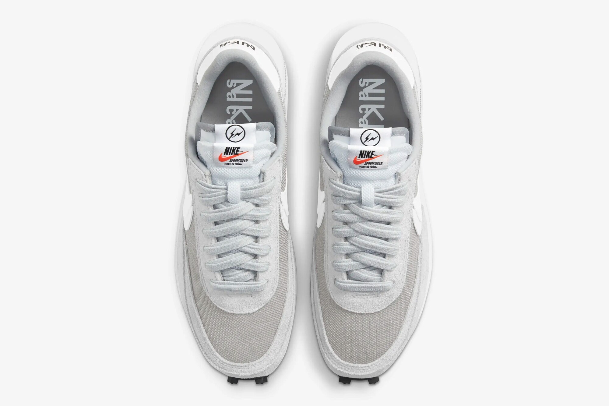 fragment x sacai x Nike LDWaffle