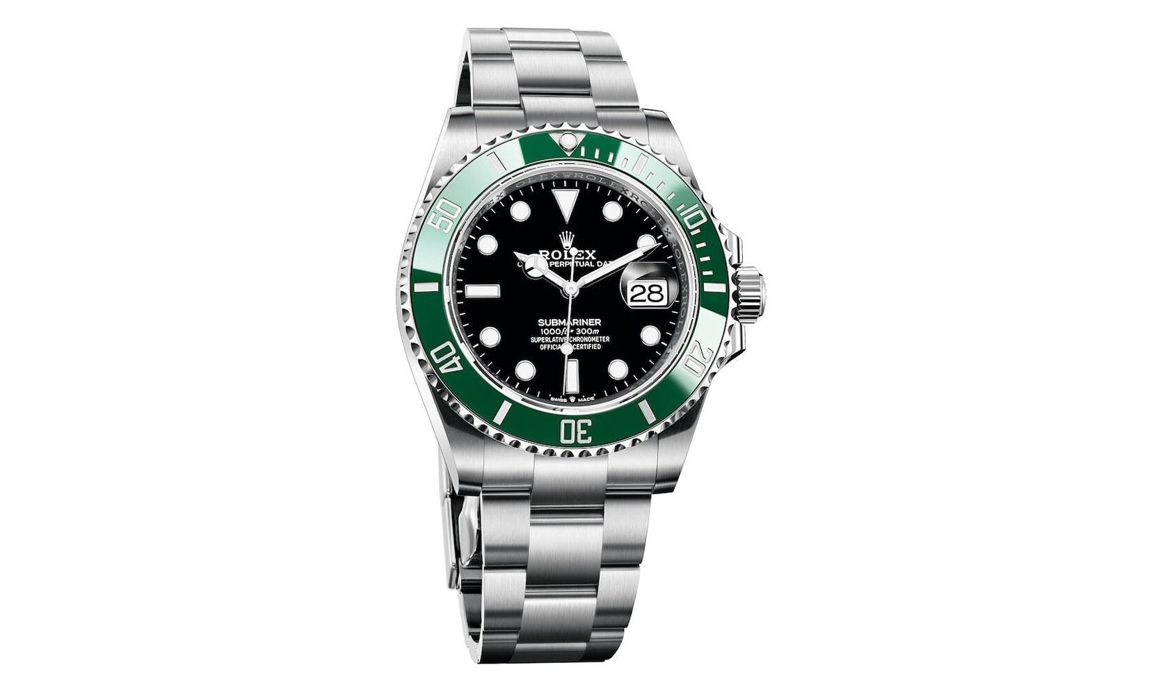 Rolex Submariner Date Oystersteel Green Bezel