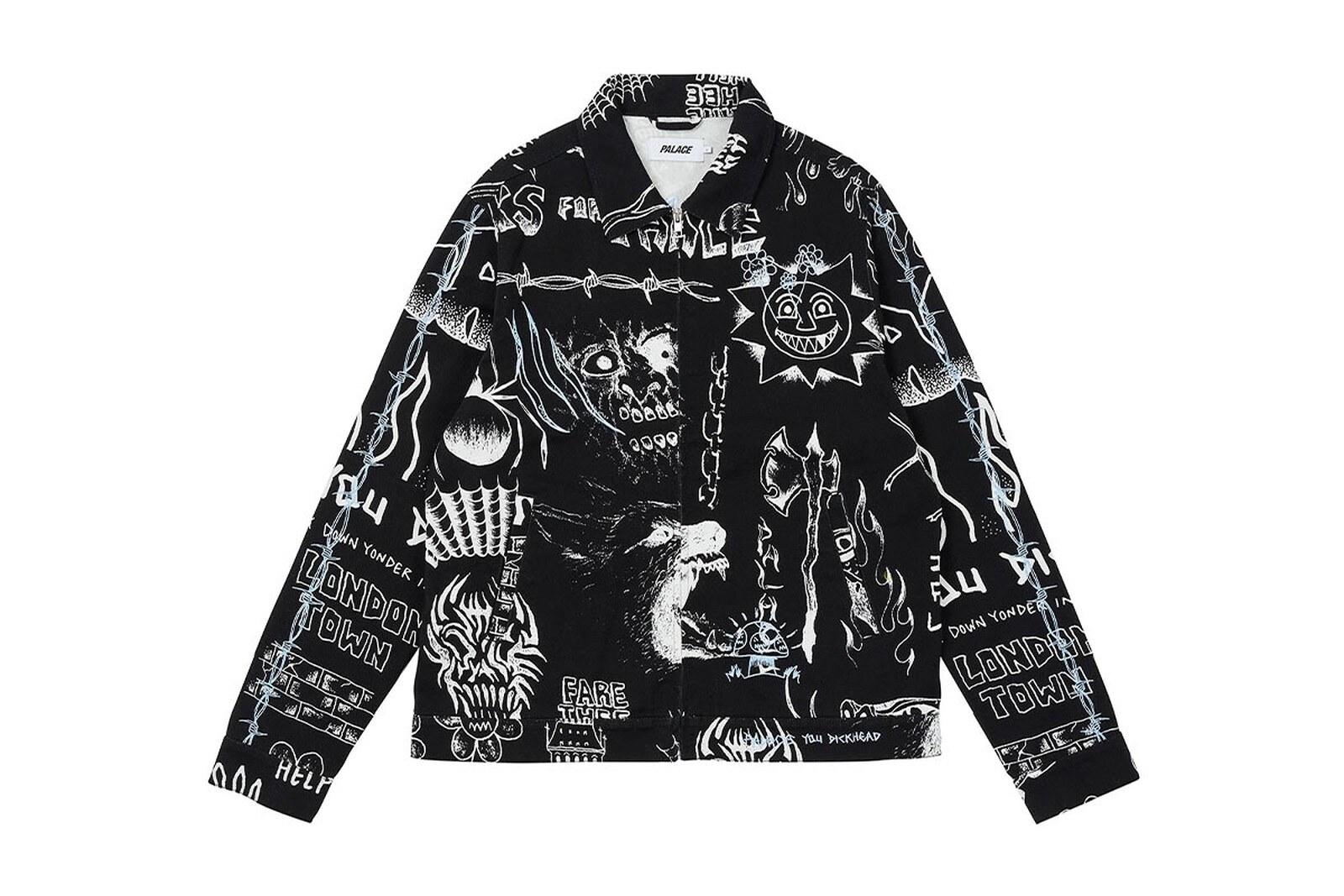 Palace x Lotties jacket