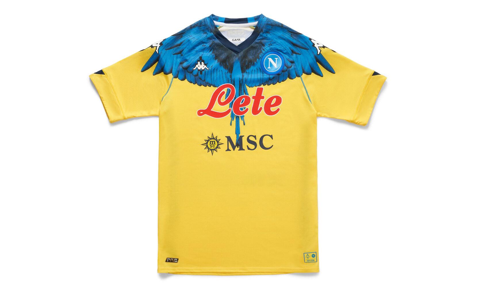 Marcelo Burlon Kappa x SSC Napoli Jersey