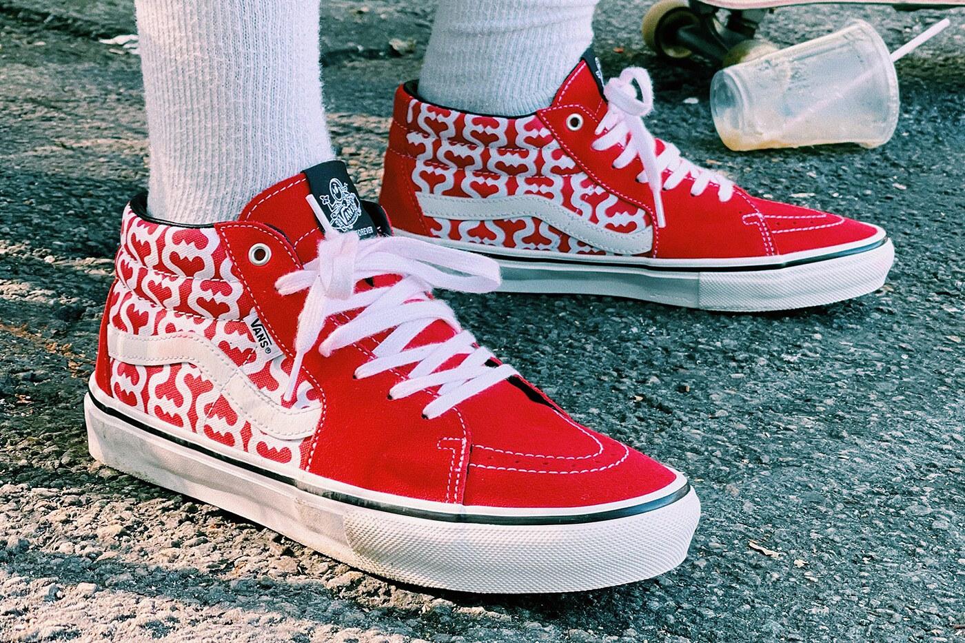 Supreme x Vans Spring/Summer 2021 Skate Grosso Mid